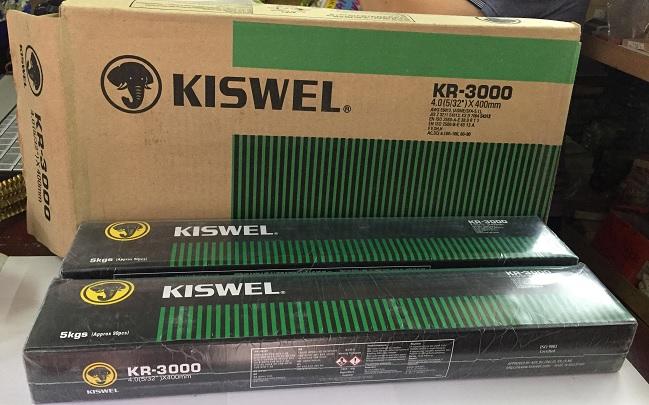 Que hàn sắt thép KR-3000 2.6 Kiswel