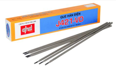 Báo giá que hàn Việt Đức J421-VD