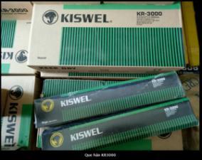 Bảng báo giá que hàn KR-3000 Kiswel
